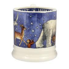 emma bridgewater winter animals 2017 1 2 pint mug