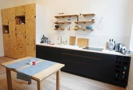 cuisine osb cuisine en panneaux fenix et osb modern kitchen by ms