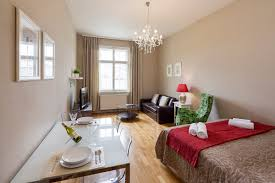 2 room apartment 706 apartments prague hotel apartments living room with kitchen