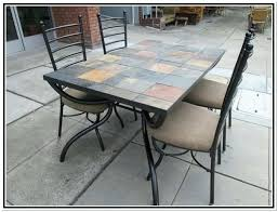 Mosaic Patio Table And Chairs Tile Top Table How To Tile A Small Table Top Tile Top Kitchen