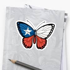 Chilian Flag Chilean Flag Butterfly