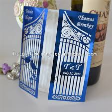 royal blue wedding invitations luxury royal blue wedding invitations birdcage gate laser cut