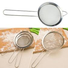 tamis fin cuisine tamis à farine thé huile sucre passoire maille outil cuisine passe