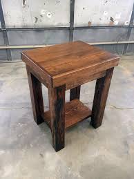 Reclaimed Wood Vanity Table Reclaimed Fixtures Grain Designs