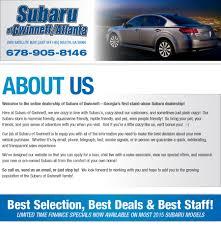 about subaru of gwinnett atlanta area new subaru and used car
