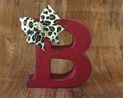 rustic letter b etsy