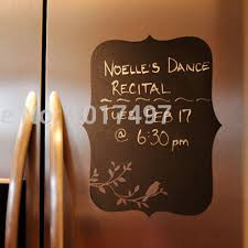 chalkboard vinyl wall decal chalkboard fridge decal for kitchen