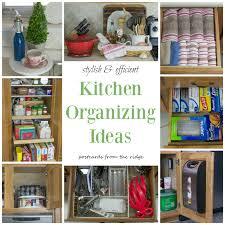 Small Kitchen Organization Ideas Kitchen Organizer Ideas Home Design Ideas
