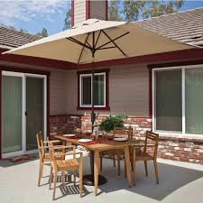 Sunbrella Umbrella Sale Clearance by Rectangular Umbrella With Tilt Available In 3 Colors Dfohome