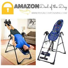 teeter inversion table amazon amazon deal of the day 40 off teeter ep 560 inversion table for