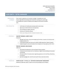 Branch Manager Resume Sample Assistant Property Manager Resume Sample Assistant Manager Resume