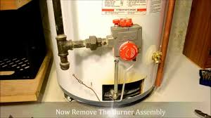 how to install replace a thermocouple in a water heater