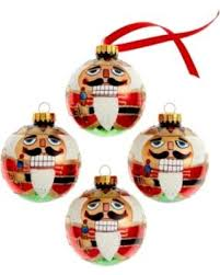 tis the season for savings on kurt adler set of 4 glass nutcracker
