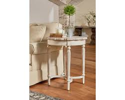 pie crust end table pie crust side table tall magnolia home