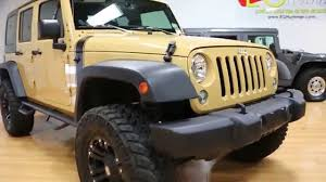 lifted 2014 jeep wrangler unlimited for sale sand dune xd wheels