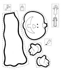 scary halloween cutouts halloween coloring pages cutouts coloring pages