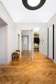 ifub uncovers parquet flooring in 1930s art deco apartment