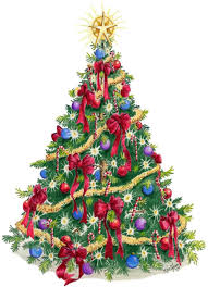 christmas tree white background high resolution ne wall