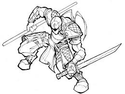 other ninja coloring pages with sword ninja coloring pages others