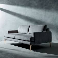 west elm andes sofa review andes 76 5 sofa heathered tweed cement dark pewter upholstery
