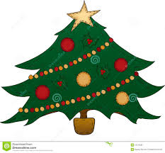 folk art christmas tree stock photos image 16376283