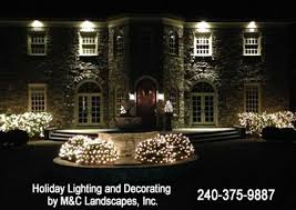northern va holiday decorating and lighting services residential