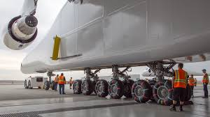 world u0027s biggest airplane stratolaunch leaves hangar time