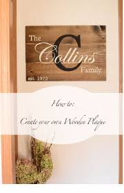 wooden wall plaques decor 50 cool and crafty diy letter and word signs diy