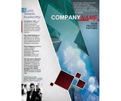 information leaflet template
