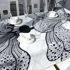 Black And White Table Cloth Dining Table Cloth Picture More Detailed Picture About Free