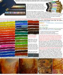 mission gold watercolors by mijello professional quality paint