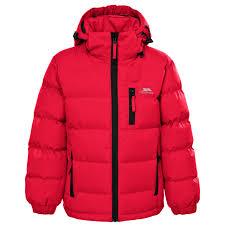 trespass tuff boys padded school jacket childrens warm winter