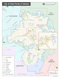 San Diego City Council District Map by Geographic Information Services City Of Vista Ca