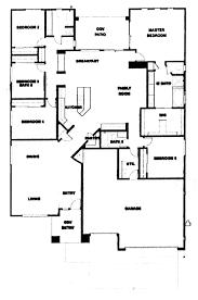 floor plans for 5 bedroom homes 5 bedroom open floor plans unique bungalow house plans floor