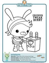 108 free octonauts printable coloring pages octonauts party
