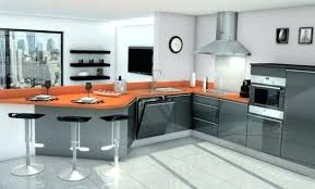 cuisine orange et gris cuisine orange et gris cuisine orange cuisine orange gris blanc