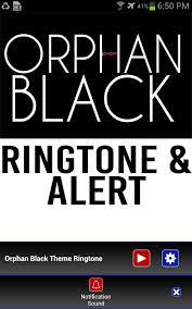 amazon com orphan black theme ringtone u0026 alert appstore for android