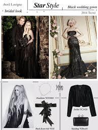 avril lavigne black wedding dress yolancris style avril lavigne black wedding gown