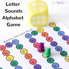 printable alphabet recognition games printable letter sounds alphabet board game