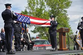 Fallen Officer Flag Web Exclusive Medics Show Support Of Fallen Peace Officers U2013 Fort