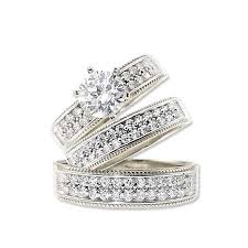 wedding rings sets his and hers exclusive white gold wedding rings for women and men rikof