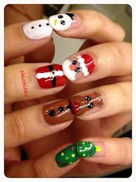 260 best christmas nail designs images on pinterest holiday
