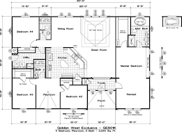 Floor Plans For Trailer Homes 100 Golden West Manufactured Homes Floor Plans Homes Direct