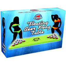 amazon com gopong pool pong table inflatable floating beer pong