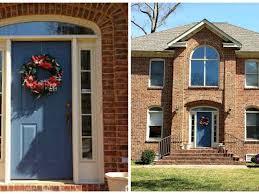door 61 best front door color for orange brick house paver