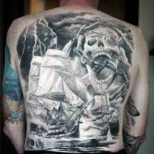 pirate skull tattoo pictures to pin on pinterest tattooskid