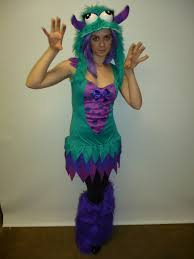 monster inc halloween costume aqua monster costume creative costumes