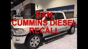 Dodge 3500 Diesel Truck Recalls - recall ram cummins 2013 2017 fire issue youtube