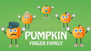 Halloween Pumpkin Poems Finger Family Rhymes Pumpkin Finger Family Halloween Pumpkin
