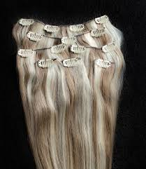 light ash blonde clip in hair extensions 18 20 22 24 100 highlighted clip in human hair extensions 7pcs
